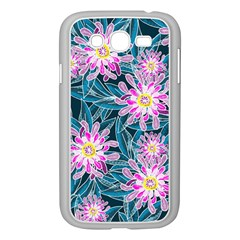 Whimsical Garden Samsung Galaxy Grand Duos I9082 Case (white) by DanaeStudio