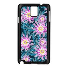 Whimsical Garden Samsung Galaxy Note 3 N9005 Case (black) by DanaeStudio