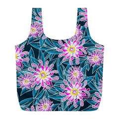 Whimsical Garden Full Print Recycle Bags (l)  by DanaeStudio