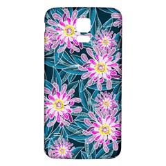 Whimsical Garden Samsung Galaxy S5 Back Case (white) by DanaeStudio