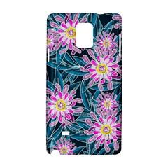 Whimsical Garden Samsung Galaxy Note 4 Hardshell Case by DanaeStudio