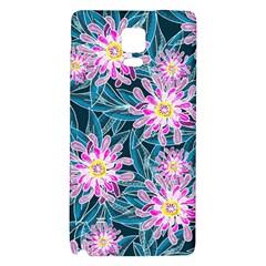 Whimsical Garden Galaxy Note 4 Back Case by DanaeStudio