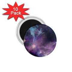 Blue Galaxy  1 75  Magnets (10 Pack)  by DanaeStudio