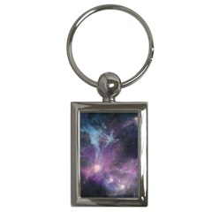 Blue Galaxy  Key Chains (rectangle)  by DanaeStudio