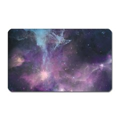 Blue Galaxy  Magnet (rectangular) by DanaeStudio
