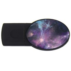 Blue Galaxy  Usb Flash Drive Oval (2 Gb)  by DanaeStudio