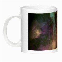 Blue Galaxy  Night Luminous Mugs by DanaeStudio