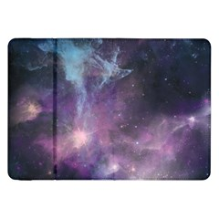 Blue Galaxy  Samsung Galaxy Tab 8 9  P7300 Flip Case by DanaeStudio