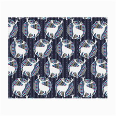 Geometric Deer Retro Pattern Small Glasses Cloth (2 Side) by DanaeStudio