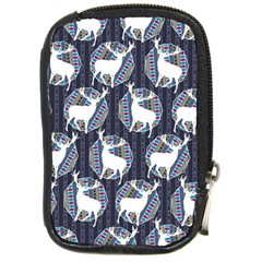 Geometric Deer Retro Pattern Compact Camera Cases by DanaeStudio