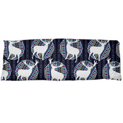 Geometric Deer Retro Pattern Body Pillow Case (dakimakura) by DanaeStudio