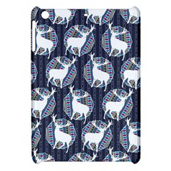 Geometric Deer Retro Pattern Apple Ipad Mini Hardshell Case by DanaeStudio