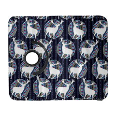 Geometric Deer Retro Pattern Samsung Galaxy S  Iii Flip 360 Case by DanaeStudio