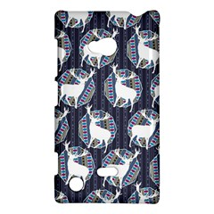 Geometric Deer Retro Pattern Nokia Lumia 720 by DanaeStudio