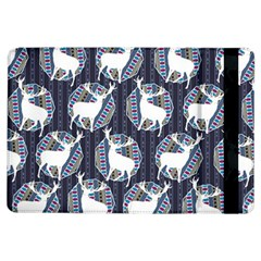 Geometric Deer Retro Pattern Ipad Air Flip by DanaeStudio