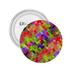 Colorful Mosaic 2 25  Buttons by DanaeStudio