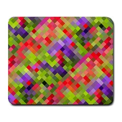 Colorful Mosaic Large Mousepads by DanaeStudio