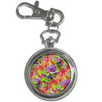 Colorful Mosaic Key Chain Watches
