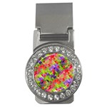 Colorful Mosaic Money Clips (CZ)