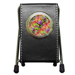 Colorful Mosaic Pen Holder Desk Clocks