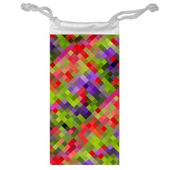 Colorful Mosaic Jewelry Bags by DanaeStudio