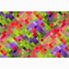 Colorful Mosaic Collage Prints by DanaeStudio