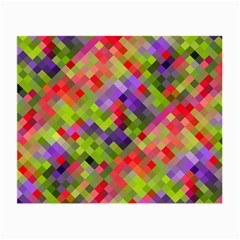 Colorful Mosaic Small Glasses Cloth (2 Side) by DanaeStudio