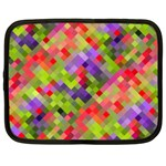 Colorful Mosaic Netbook Case (Large)