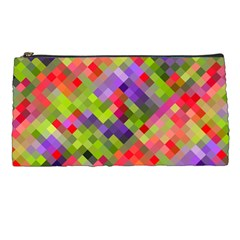 Colorful Mosaic Pencil Cases by DanaeStudio