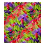 Colorful Mosaic Shower Curtain 66  x 72  (Large)