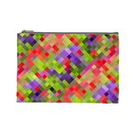Colorful Mosaic Cosmetic Bag (Large)