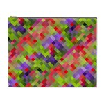 Colorful Mosaic Cosmetic Bag (XL)
