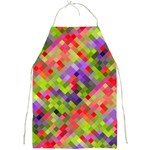 Colorful Mosaic Full Print Aprons