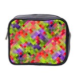 Colorful Mosaic Mini Toiletries Bag 2-Side
