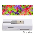 Colorful Mosaic Memory Card Reader (Stick)