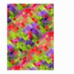 Colorful Mosaic Large Garden Flag (Two Sides)