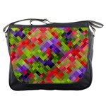 Colorful Mosaic Messenger Bags
