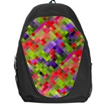 Colorful Mosaic Backpack Bag