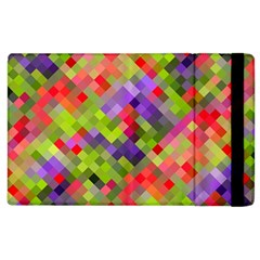 Colorful Mosaic Apple Ipad 3/4 Flip Case by DanaeStudio