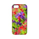 Colorful Mosaic Apple iPhone 5 Classic Hardshell Case (PC+Silicone)