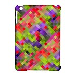 Colorful Mosaic Apple iPad Mini Hardshell Case (Compatible with Smart Cover)