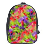 Colorful Mosaic School Bags (XL)