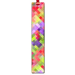 Colorful Mosaic Large Book Marks by DanaeStudio
