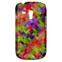 Colorful Mosaic Samsung Galaxy S3 Mini I8190 Hardshell Case by DanaeStudio