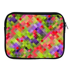 Colorful Mosaic Apple Ipad 2/3/4 Zipper Cases by DanaeStudio