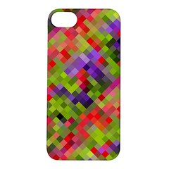 Colorful Mosaic Apple Iphone 5s/ Se Hardshell Case by DanaeStudio