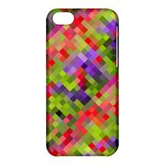 Colorful Mosaic Apple Iphone 5c Hardshell Case by DanaeStudio