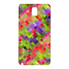Colorful Mosaic Samsung Galaxy Note 3 N9005 Hardshell Back Case by DanaeStudio