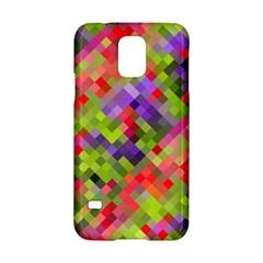 Colorful Mosaic Samsung Galaxy S5 Hardshell Case  by DanaeStudio