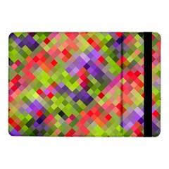 Colorful Mosaic Samsung Galaxy Tab Pro 10 1  Flip Case by DanaeStudio